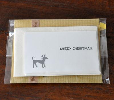 クリスマスカードを発売しました!